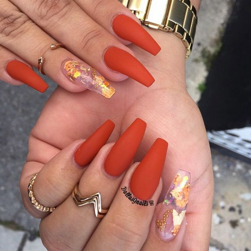50 Best Fall Acrylic Nails for 2018 - FAVHQ.com